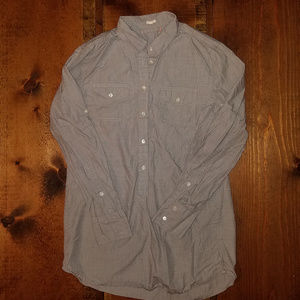 J. Crew Half Button Tunic